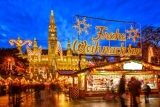 In STIJL genieten van de kerstsfeer in het prachtige WENEN -38% . incl. vluchten en ontbijt